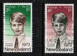 NEW ZEALAND  Scott # B 87-8 VF USED (Stamp Scan # 424) - New Zealand