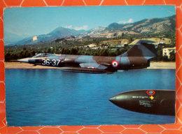 AEREO F 104 S AERONAUTICA MILITARE ITALIANA  CARTOLINA - 1946-....: Era Moderna