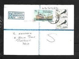 S.Africa, Registered Cover, R4.45, GEORGE EAST 28 07 1994  > Pinetown - Brieven En Documenten