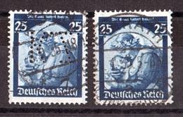 """Allemagne - 1935 - N° 527 Oblitéré Dont 1 Perforé """"KZ"""" - Retour De La Sarre - Allemagne"""
