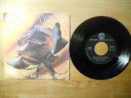 Gigliola Cinquette La Rosa Nera 1967 - 45 Rpm - Maxi-Single