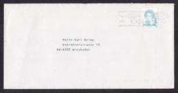 Netherlands: Cover To Germany, 1993, 1 Stamp, Cancel London-Sydney Marathon, DAF Car, Kangaroo (stamp Minor Damage) - Period 1980-... (Beatrix)