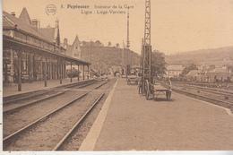 Pepinster - Intérieur De La Gare - Ligne Liège-Verviers - Edit. P.J. Flion, Bruxelles-Nord N° 8 - Gares - Sans Trains