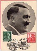 Propagandakarte Frankatur - Sonderstempel Berlin 1939 - Germania