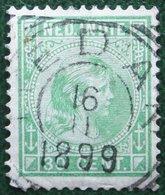 Prinses Wilhelmina 30 Ct NVPH 28 1894 1892-1897 Gestempeld / Used NEDERLAND INDIE / DUTCH INDIES - Netherlands Indies