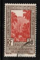 FRENCH POLYNESIA  Scott # J 12 VF USED (Stamp Scan # 424) - Oceania (1892-1958)