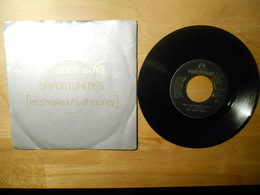Pet Shop Boys - Opportunities - 1986 Emi Italia - 45 Rpm - Maxi-Single