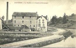 Ravières Près Auxerre Moulin - Francia