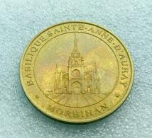 """1998 - Basilique Sainte-Anne D""""Auray - Morbihan - Monnaie De Paris"""