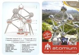Atomium - Bruxelles, Brussel - Expo 58 - Dépliants Touristiques