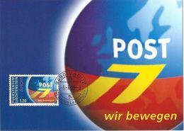 """Liechtenstein 2003: Europa Poster-Art """"wir Bewegen""""  Zu 1256 Mi 1310 Yv 1251 Auf MK 213 (CHF 4.00) - Poste"""