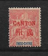 CANTON TYPE GROUPE N° 13 NEUF* - COTE = 40.00 € - Canton (1901-1922)