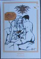 Guenet - Sexy - Hommage A Donald - Carte Non Postale 9.5*14cm Environ - Cartes Postales