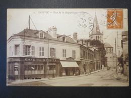 76 - Le Havre Sanvic - CPA - Rue De La République - ELD N° 2 - Cachets Sanvic - TBE - 1929 - - Le Havre