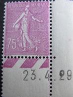 R1692/114 - 1924 - TYPE SEMEUSE - N°202 CdF Daté NEUF** - Unused Stamps
