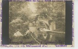 """GARCHES - TABLEAUX - SALON - """"Parc De VILLENEUVE L'ETANG Près Du Pont - 1902"""" Par P. LEGRAND - Garches"""