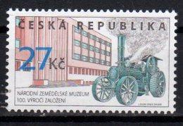CZECH REPUBLIC ,2018,MNH,AGRICULTURE MUSEUM, TRACTORS,1v - Museums