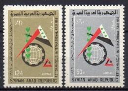 Syrie - Poste Aérienne - 1966 - N° Yvert : PA 292 & 293 ** - Syrie