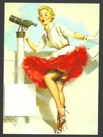 Gil Elvgren, What A View, 1957, Pin-Up - Pin-Ups