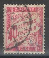 France - Taxe - YT 35 Oblitéré - 1859-1955 Oblitérés
