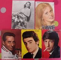 Lot D'images Photos Pub Chanteurs Yéyé Variétés Années 60. Deneuve Raisner Dick Rivers Leny Escudero Lori Nelson - Old Paper