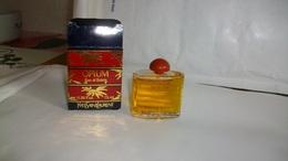 """Miniature Yves Saint Laurent   """"  Opium  """"  Eau De Toilette 7,5 Ml - Miniatures Modernes (à Partir De 1961)"""