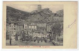 04 COURBONS  Environs De Digne Vue Générale Et Fanfare - Autres Communes