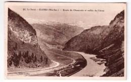 Cluses - Route De Chamonix Et Vallée De L'Arve - édit. Greffoz 21 + Verso - Cluses