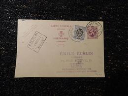 Entier Postal 1932, Huissier Buslin, à Lire  (Y5) - Entiers Postaux