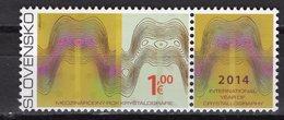 SLOVAKIA - 2014 International Year Of Crystallography   M294 - Ongebruikt