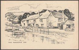 The Pandora Inn, Restronguet Creek, Cornwall, C.1950 - Postcard - England