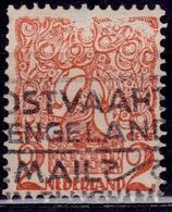 Netherlands, 1923, Tree And Lion Of Brabant, 2c, Sc#114, Used - 1891-1948 (Wilhelmine)