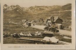 Poste Frontiere Pas De La Casa France Andorre  Autos Doaune Customs Format 10/15 - Douane