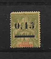 COTE D'IVOIRE TYPE GROUPE N° 20 NEUF ** - COTE = 45.00 € - Elfenbeinküste (1892-1944)