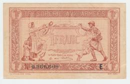 FRANCE 1 FRANC TRESORERIE AUX ARMEES 1917 VF++ Pick M2 - Treasury