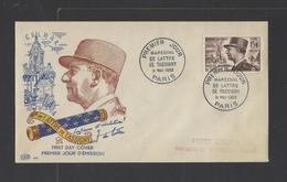 FRANCE.  N° 920  Oblitération 1er Jour.  8-5-1952 - FDC