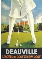 Ansichtskarte  Humor  Deauville New Golf - Humor