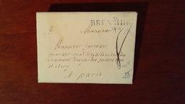 MARCOPHILIE LETTRE 15 JUILLET 1785 - BRESSUIRE - AVEC TAXE MANUELLE 8 - Marcophilie (Lettres)