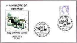 4 Años Del TERREMOTO - 4 Years EARTHQUAKE. L'Aquila 2013 - Geología