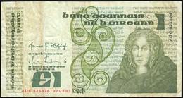 IRELAND 1 Livre Banknote Circulated - Ireland