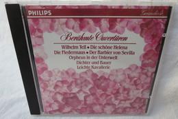 "CD ""Berühmte Overtüren"" Wilhelm Tell, Die Fledermaus, Orpheus In Der Unterwelt.... - Klassik"