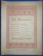 PIANO GF CHANT PARTITION REYNALDO HAHN D'UNE PRISON PAUL VERLAINE ILL BORIE - Music & Instruments
