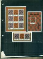 S.VINCENT ANNEE DU RAT 3 VAL + 1 MINI-FEUILLE + 1 BF NEUF A PARTIR DE 1 EURO - St.Vincent (1979-...)