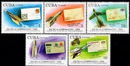 Cuba - 1989 - Cosmonautics Day - Mint Stamp Set - Cuba