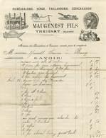 03 Treignat  Marechalerie  Quincaillerie Maugenest - France