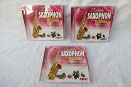 """3 CDs """"Zärtliche Saxophon Melodien"""" - Instrumental"""