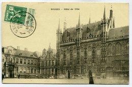 CPA - Carte Postale - Belgique - Bruges - Hôtel De Ville - 1912 (SV6044) - Brugge