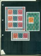 S.VINCENT ANNEE DU BOEUF 3 VAL + 1 MINI-FEUILLE + 1 BF NEUF A PARTIR DE 1 EURO - St.Vincent (1979-...)