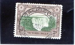 B - 1932 Rhodesia Del Sud - Cascata Vittoria - Rhodesia Del Sud (...-1964)