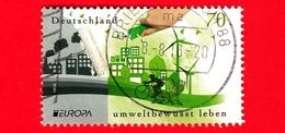 GERMANIA - Usato - 2016 - Europa (C.E.P.T.) - Città Inquinata E Città Pulita - Ecologia - Think Green - 70 - Usati